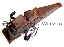 artipel, puskatok, vadászpuska, vadász, bőr, puska, tok, fegyver, vadászfegyver,