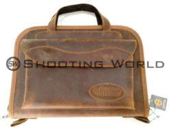 Artipel, pisztolytáska, bőr, pisztoly, táska, hagyományos, hordozható, kényelmes,