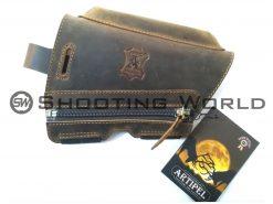 Artipel bőr pofadékmagasító (pofadékemelő) cipzáros ARD-02/R 20 mm, artipel pofadékmagasító, artipel, pofadékmagasító, shooting world