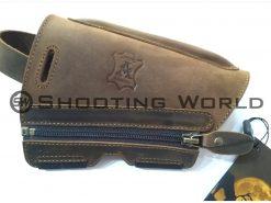 Artipel bőr pofadékmagasító (pofadékemelő) cipzáros ARD-03/R 10 mm, artipel pofadékmagasító, artipel, pofadékmagasító, shooting world