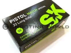 22 LR SK Pistol Match Special 2,59 g