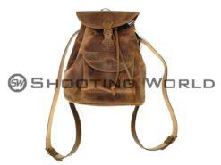 artipel, hátizsák, bőrből, kézzel készített, olasz, vadász, kiegészítő, bőr hátizsák
